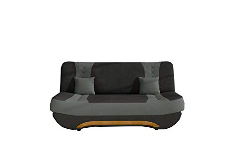 MOEBLO Sofa mit Schlaffunktion und...