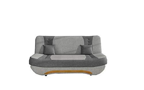Sofa mit Schlaffunktion und Bettkasten,...