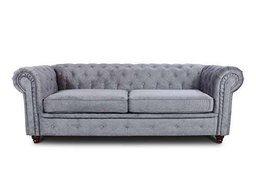 Sofa Chesterfield Asti 3-Sitzer, Couch...
