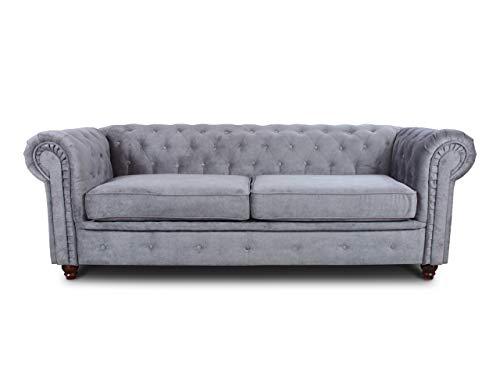 Sofa Chesterfield Asti 3-Sitzer, Couch...