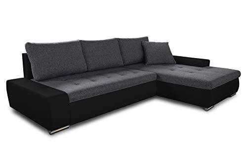 Ecksofa mit Schlaffunktion Faris - Couch...
