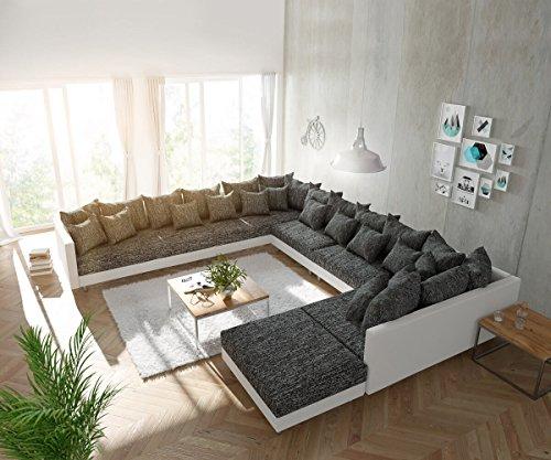 DELIFE Couch Clovis modular - Ecksofa,...
