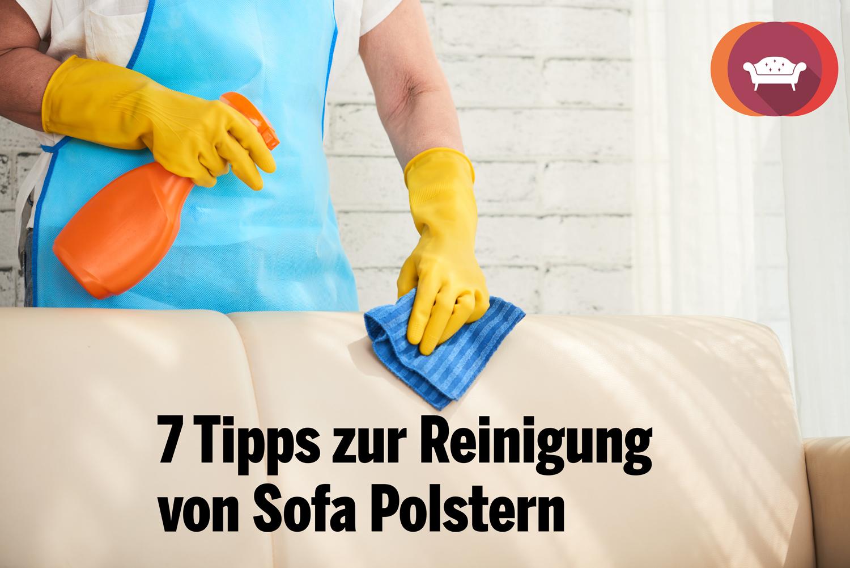 ᐅ Sofa reinigen   12 schnell umsetzbare Tipps