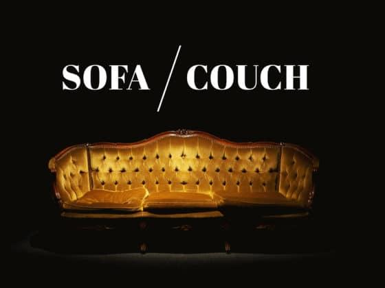 Unterschied zwischen Sofa und Couch